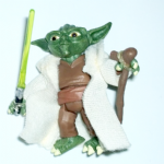 Star Wars 2009 Clone Wars Animated Yoda loose action figure @sold@
